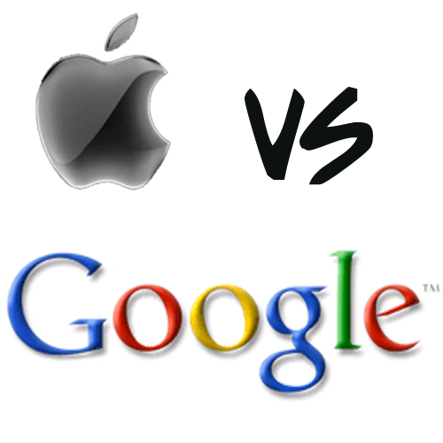 Google and Apple Break Ties