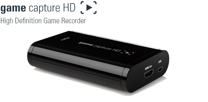 Game Capture HD with Elgato Systems