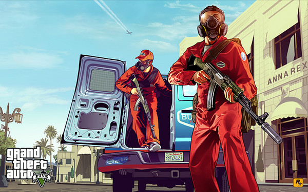 Rockstar Gives Us Artwork of GTA V Until Huge Reveal Next Week