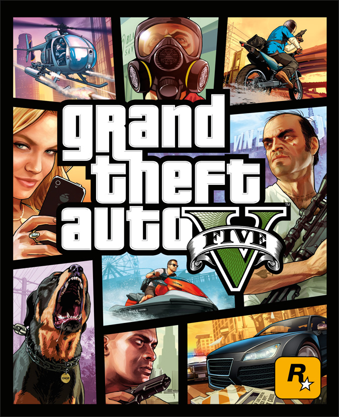 Rockstar Releases Box Art and Screenshots for GTA V