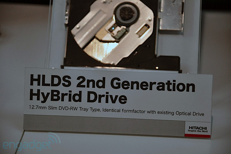 Hybrid Optical Drives Spin and Store