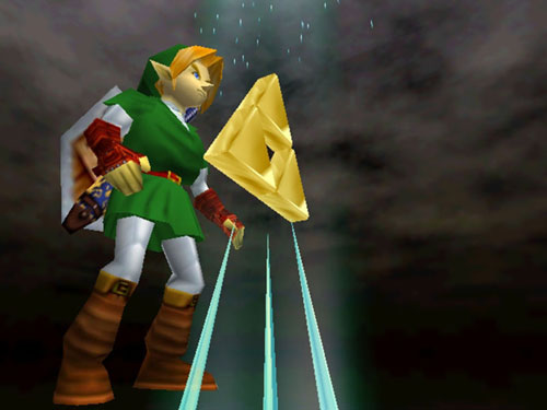 Zelda First Person Shooter