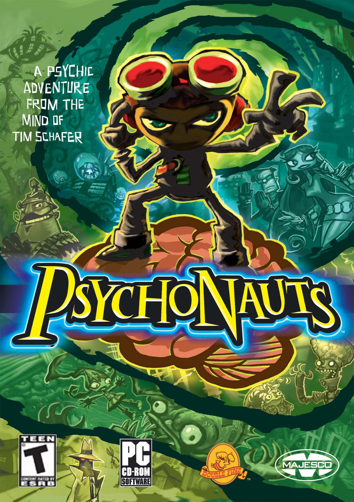 Double Fine Productions Crowdfunding Psychonauts 2