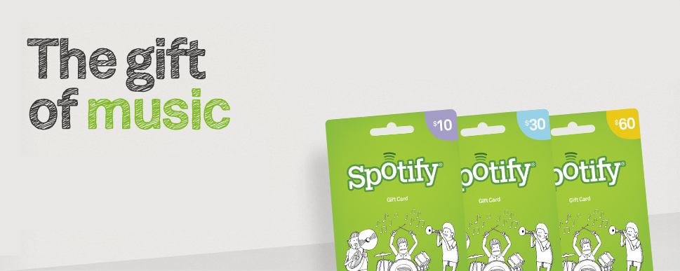 Spotify Adds New Features, Gives New Customers Easier Buying Options with Gift Cards