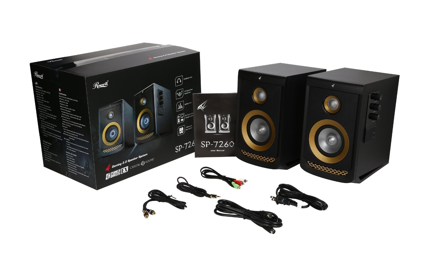 SP-7260 60-Watt Multimedia Speakers