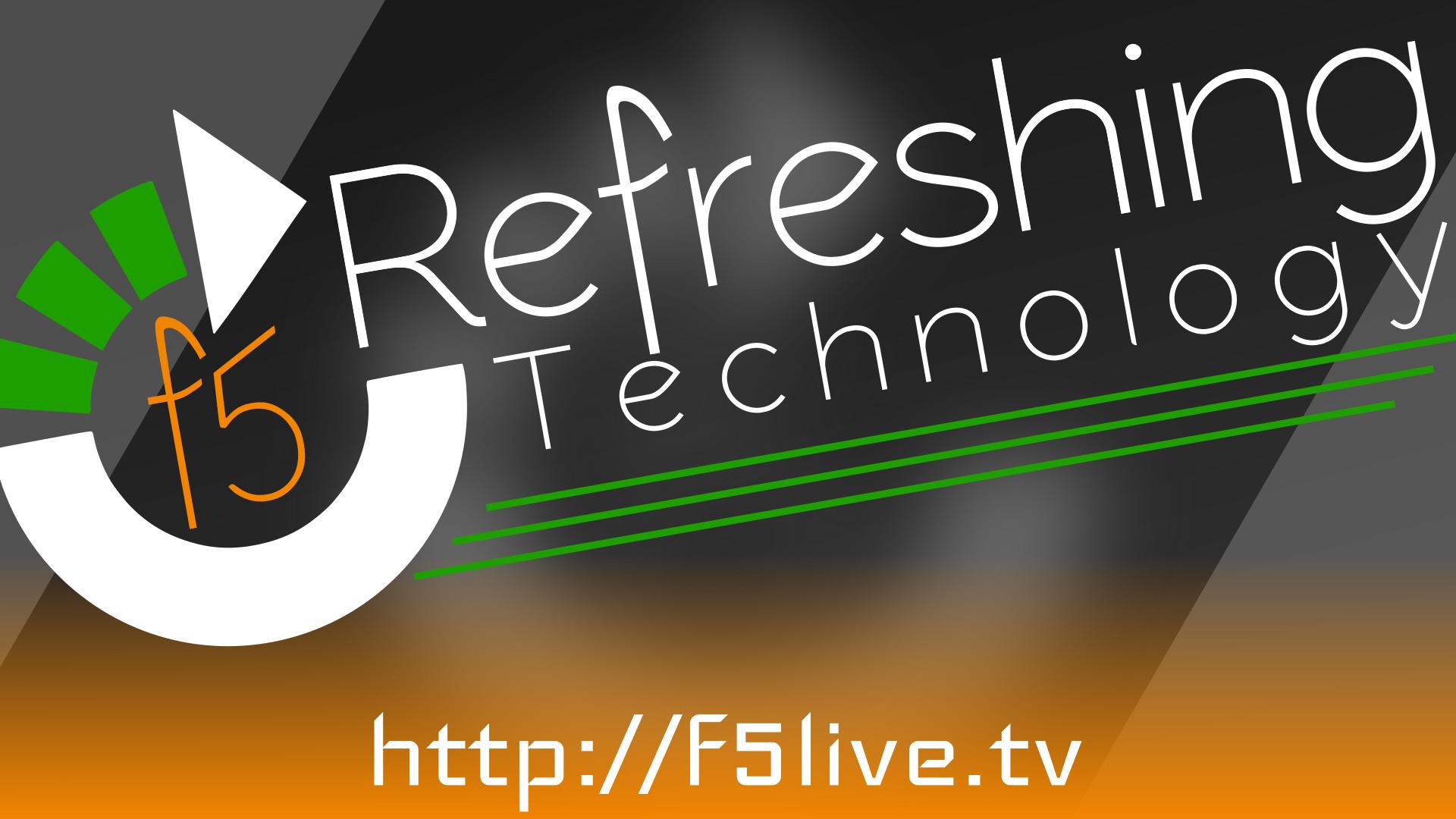 F5 Live: Refreshing Technology (Audio)